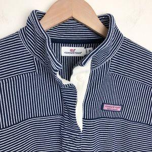 Vineyard Vines Stripe Button Placket Shep Shirt